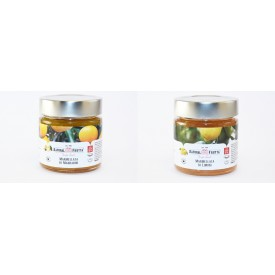 Citrus fruit jam box